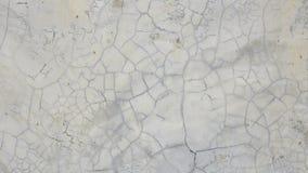 Den gamla gråa väggen bröt betong Royaltyfria Bilder