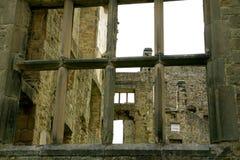 Den gamla Hallen, Hardwick, Derbyshire royaltyfria bilder