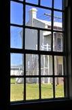 Den gamla karantänstationen, punktNepean nationalpark, Victoria, Australien Arkivbilder
