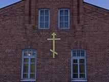 Den gamla kristna kyrkan Royaltyfri Foto