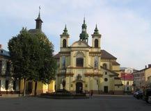 Den gamla kyrkan Arkivfoton