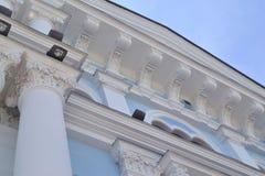 Den gamla kyrkan i Ukraina arkivfoton