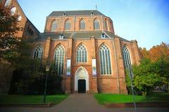 Den gamla kyrkliga motorförbundet-kerk eller den Der Aa kyrkan Arkivfoton