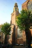 Den gamla kyrkliga motorförbundet-kerk eller den Der Aa kyrkan Arkivfoto