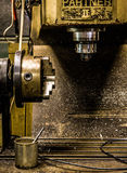 Den gamla malningmaskinen Royaltyfri Fotografi