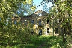 Den gamla mangårdsbyggnaden Fotografering för Bildbyråer