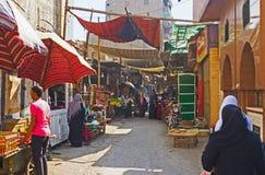 Den gamla marknaden Arkivfoto