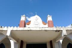 Den gamla moskén av Masjid Jamek Jamiul Ehsan a K en Masjid Setapak Arkivfoto