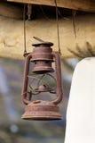 Den gamla olje- lampan Royaltyfri Fotografi