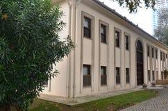 Den gamla ottomanbyggnaden som används som en arsenal Arkivbilder