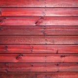 Den gamla röda wood texturen med naturliga modeller Arkivfoton