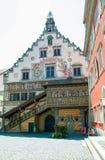 den gamla rathausen av Lindau, royaltyfri foto