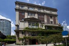 Den gamla Shanghai konstmuseet Royaltyfria Bilder