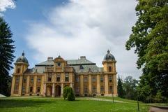 Den gamla slotten av räkningen Pejacevic från 1811 i Nasice Arkivbilder