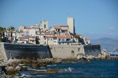 Den gamla staden av Antibes Royaltyfria Bilder