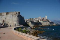 Den gamla staden av Antibes Royaltyfri Bild