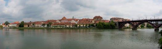Den gamla staden av Maribor Arkivbilder