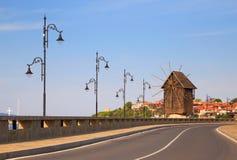 Den gamla staden av Nesebar, Bulgarien Arkivbilder