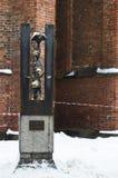 Den gamla staden av Riga Arkivfoto