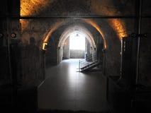 Den gamla staden av tunnlandet israel Royaltyfri Bild