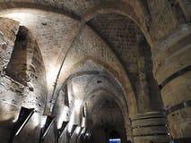 Den gamla staden av tunnlandet israel royaltyfria bilder