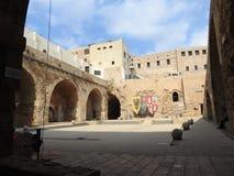 Den gamla staden av tunnlandet israel royaltyfri foto