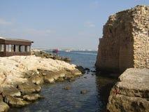 Den gamla staden av tunnlandet, Israel Royaltyfri Bild