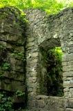 Den gamla stendörröppningen fördärvar Arkivbild