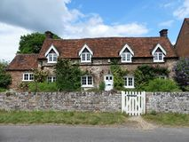 Den gamla stugan, län, Buckinghamshire arkivfoton