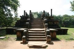 Den gamla templet Arkivfoto