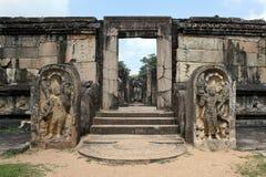 Den gamla templet Arkivbild