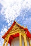 Den gamla templet i Thailand Arkivfoto