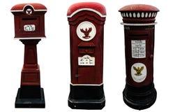 Den gamla thailändska postBoxen Arkivbild