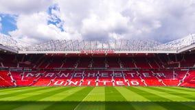 Den gamla Trafford stadion royaltyfria foton