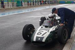 Den gamla tunnbindaren F1 har stoppat Fotografering för Bildbyråer