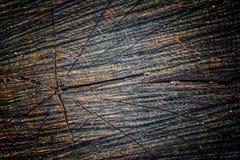 Den gamla wood texturen med naturliga modeller och sprickor på yttersidan som bakgrund Gör mörkare från mitt Royaltyfria Foton