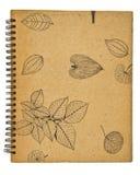 den gammala anteckningsboken återanvänder Arkivfoton