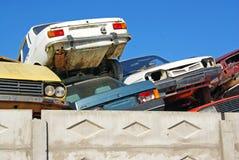den gammala bilen traffic ut Royaltyfria Foton