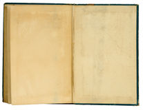 den gammala boken öppnar Royaltyfria Foton