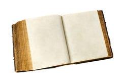 den gammala boken öppnar Royaltyfri Fotografi