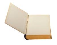 den gammala boken öppnar Fotografering för Bildbyråer
