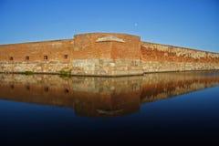 den gammala borgerliga forten kriger Fotografering för Bildbyråer