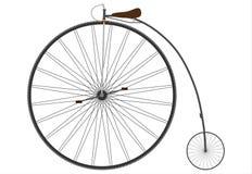 Gammal cykel. royaltyfri illustrationer