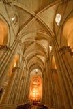 Den gammala domkyrkan - Salamanca Arkivbilder
