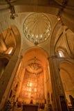 Den gammala domkyrkan - Salamanca Royaltyfria Foton