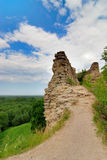 den gammala fästningen fördärvar arkivfoton