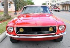 Gammal Ford Mustangbil Arkivbilder