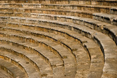 Amfiteater i Ohrid, Makedonien Royaltyfri Foto