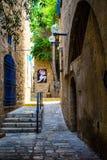 Den gammala gatan av Jaffa, Tel Aviv Royaltyfri Bild