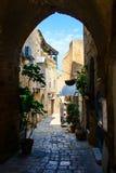 Den gammala gatan av Jaffa, Tel Aviv Arkivfoto